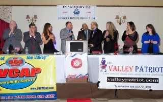 Invited to join the program at the Valley Patriot annual Bash