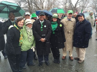 Lawrence St. Patrick's Day Parade 2015