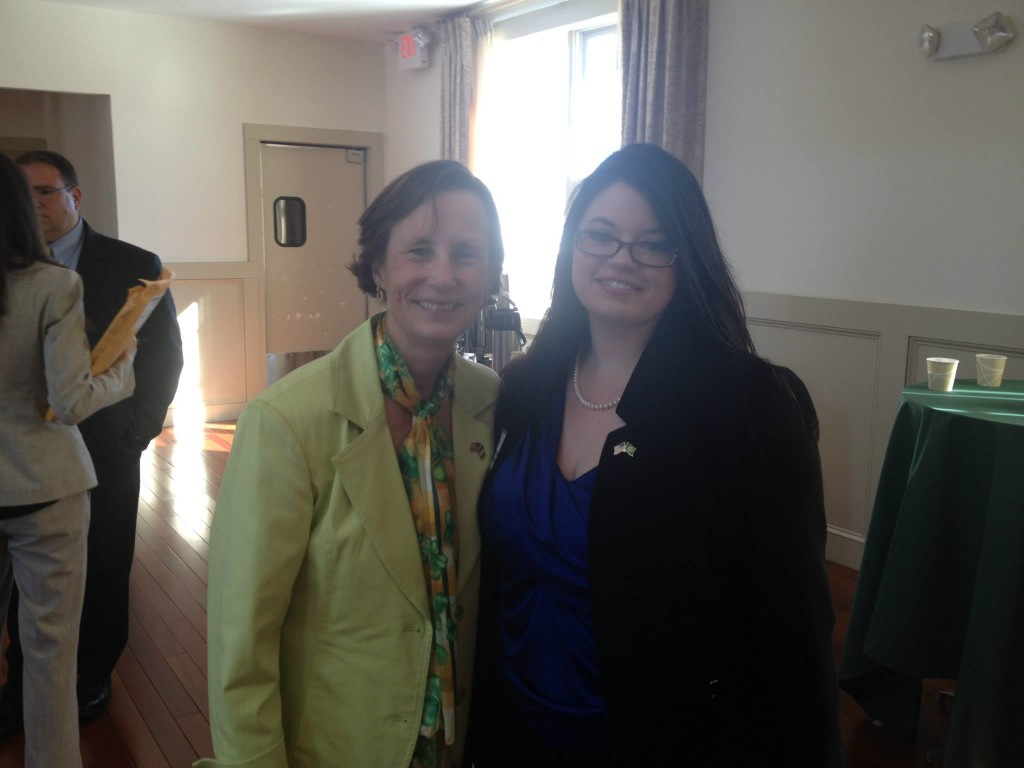 With State Rep. Linda Dean Campbell