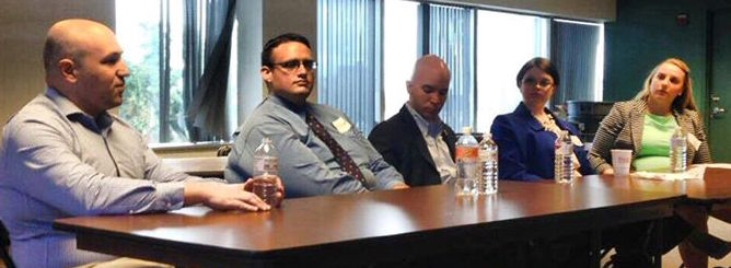 Serving on a Young Elected Officials Panel