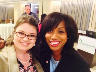 Boston City Councillor Ayanna Pressley and Jessica