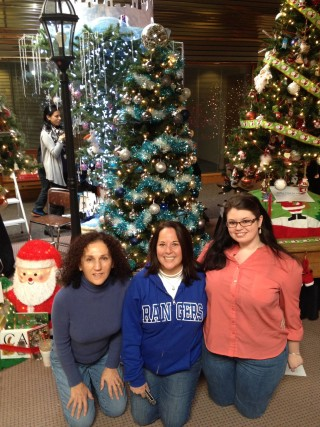 Just finished our tree for the Methuen Festival of Trees to benefit local nonprofits