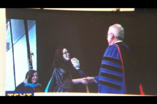 Jessica Graduating with her Masters in Public Administration