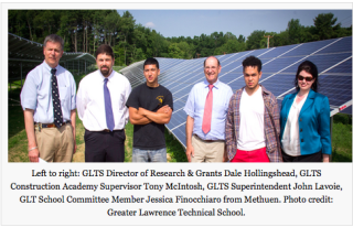 Excited to bring 100% solar energy to GLTS!